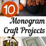 10 Monogram Craft Projects