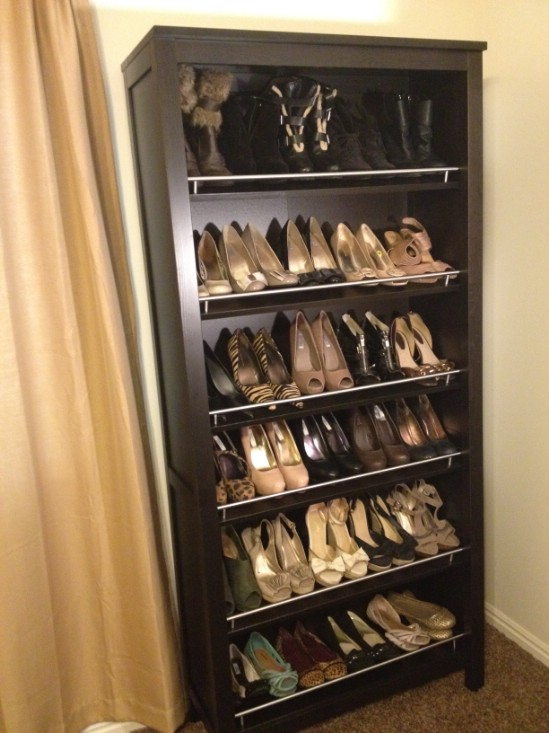 11 space saving ways to organize your shoes page 9 of 12 my list of lists - Ways to organize shoes in a small space pict ...