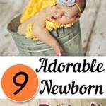 9 Adorable Newborn Portrait Ideas