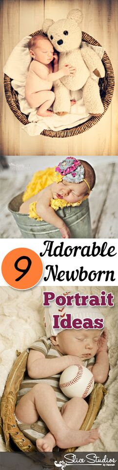 9 Adorable Newborn Portrait Ideas