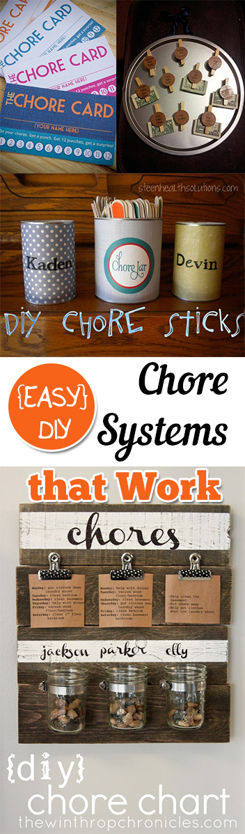 {EASY} DIY Chore Systems that Work