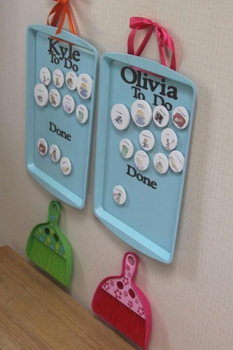 Great Ways to Organize Kids' Chores