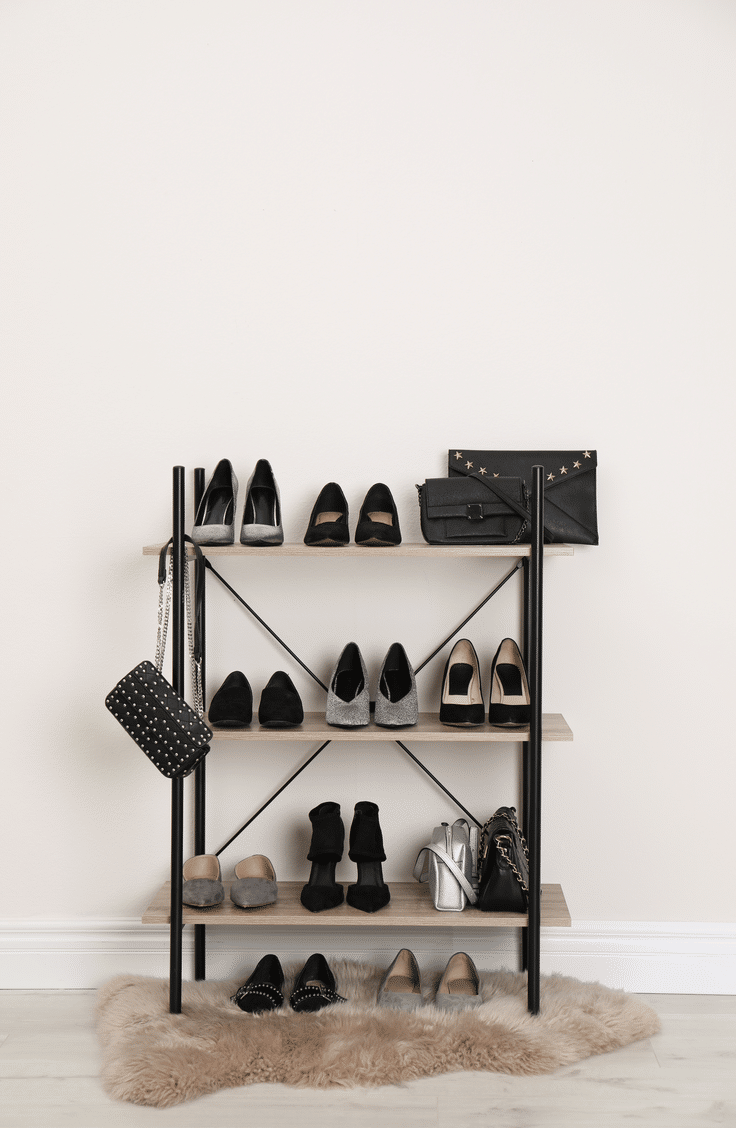 If you want to get creative with the way you store your shoes, you can always use a bookshelf! Before they take over the closet and you lose your mind trying to find the right pair, take a look at these awesome ways to organize shoes.