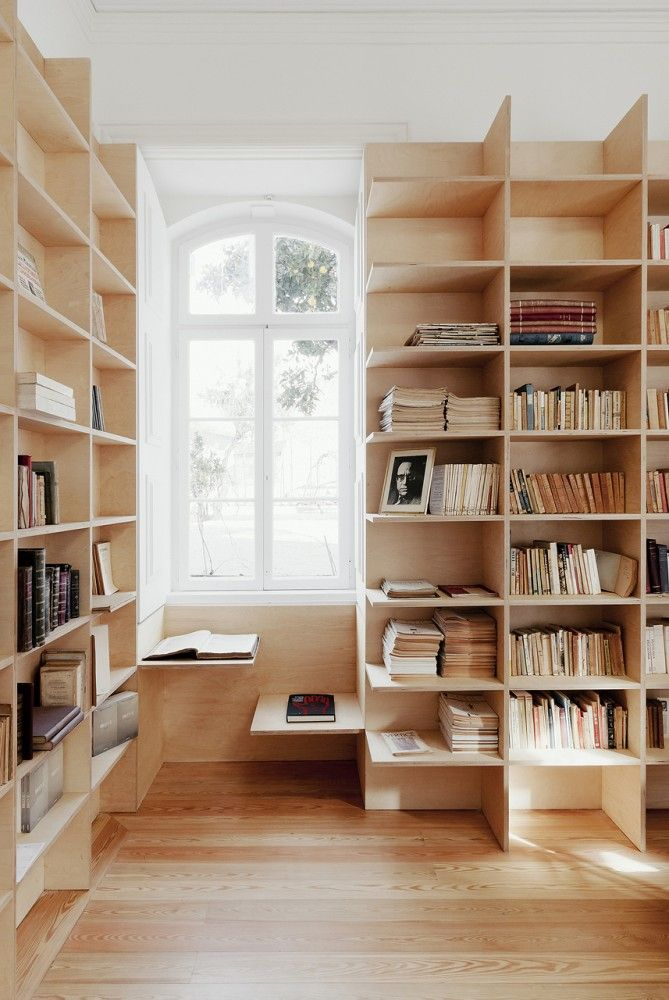 9 Home Library Ideas