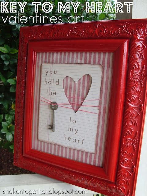 9 DIY Valentine's Decorations