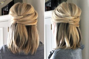 6 easy and cute hairstyles for medium to long hair  page