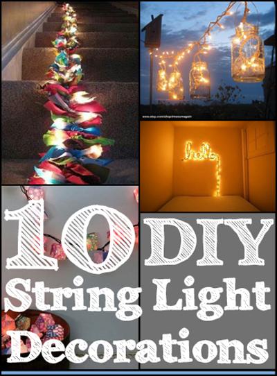 10 Diy String Light Decorations My List Of Lists