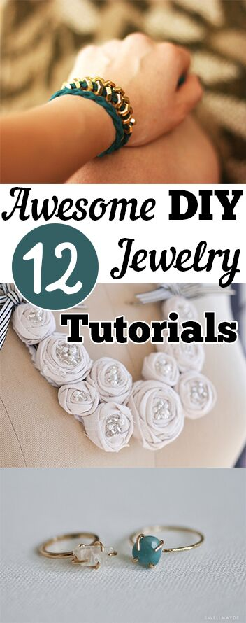 12 Awesome DIY Jewelry Tutorials