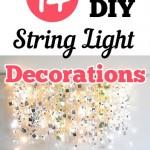 14 DIY String Light Decorations