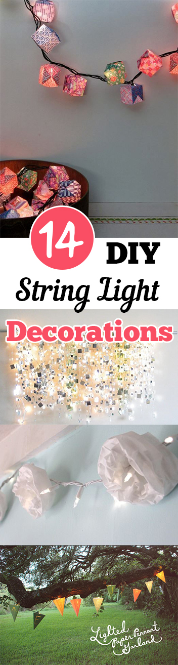 14 DIY String Light Decorations