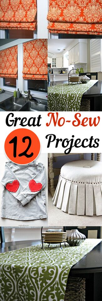 12 Great No Sew Projects
