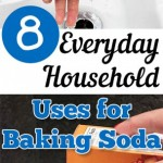 Baking soda, uses for baking soda, cleaning hacks, cleaning tricks, household cleaning hacks, popular pin, popular pinterest pins, cleaning and organization.