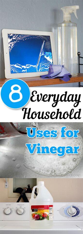 8 Everyday Household Uses For Vinegar
