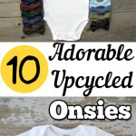 10 Adorable Upcycled Onsies
