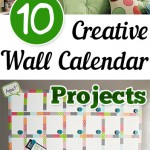 10 Creative Wall Calendar Projects