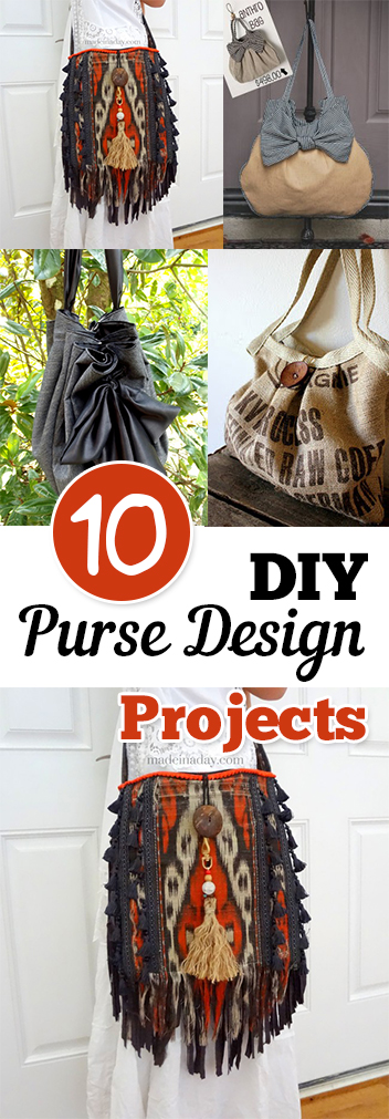 10 DIY Purse Design Projects