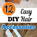 12 Easy DIY Hair Accessories