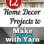 12 Home Decor Projects to Make with Yarn
