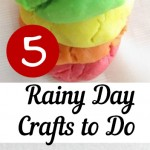 5 Rainy Day Crafts to Do With Ki