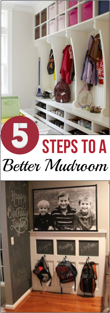 5 Steps to a Better Mudroom