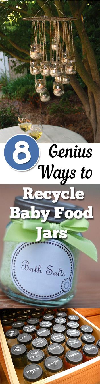 8 Genius Ways To Recycle Baby Food Jars My List Of Lists