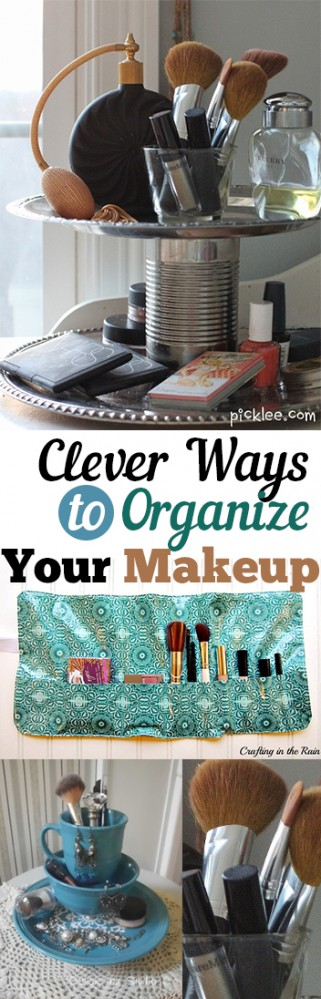 Clever Ways to Organize Your Makeup