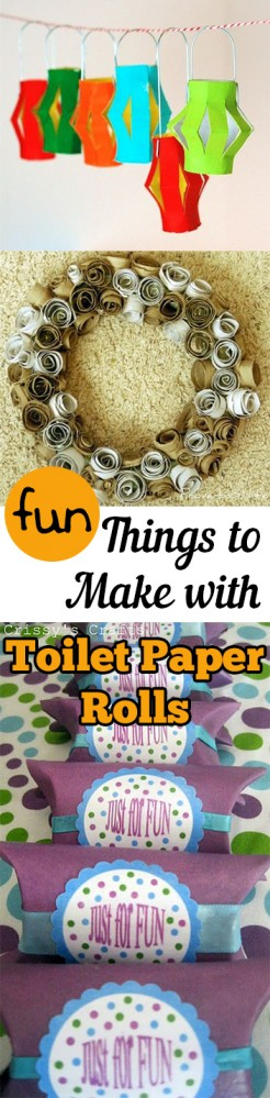 Fun Things to Make with Toilet Paper Rolls