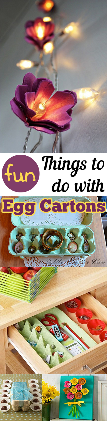 Fun Things to do with Egg Cartons