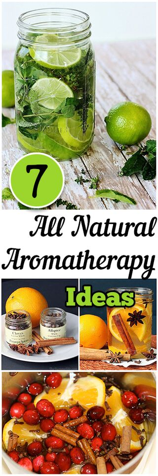 7 all natural aromatherapy ideas