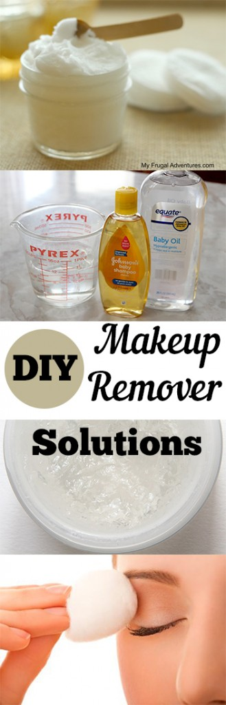 DIY Makeup Remover Solutions