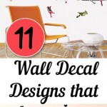 11 Wall Decal Designs that Will Transform Your Room