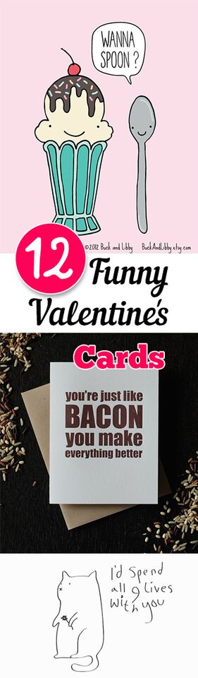 12 Funny Valentines Day Cards