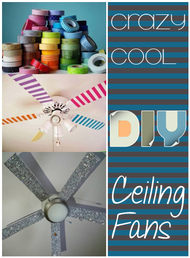 5 Crazy Cool DIY Ceiling Fans