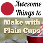 Awesome Things to Make with Plain Cups