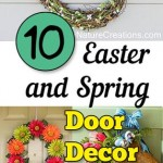 10 Easter and Spring Door Decor Ideas