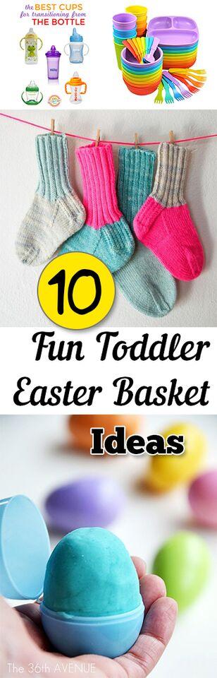 10 Fun Toddler Easter Basket Ideas