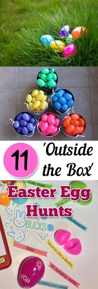 11 Outside the Box Easter Egg Hunts