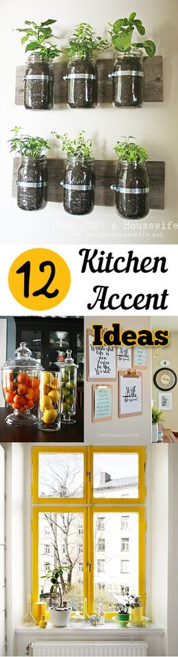 12 Kitchen Accent Ideas