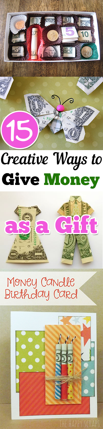 15 creative ways to give money as a gift