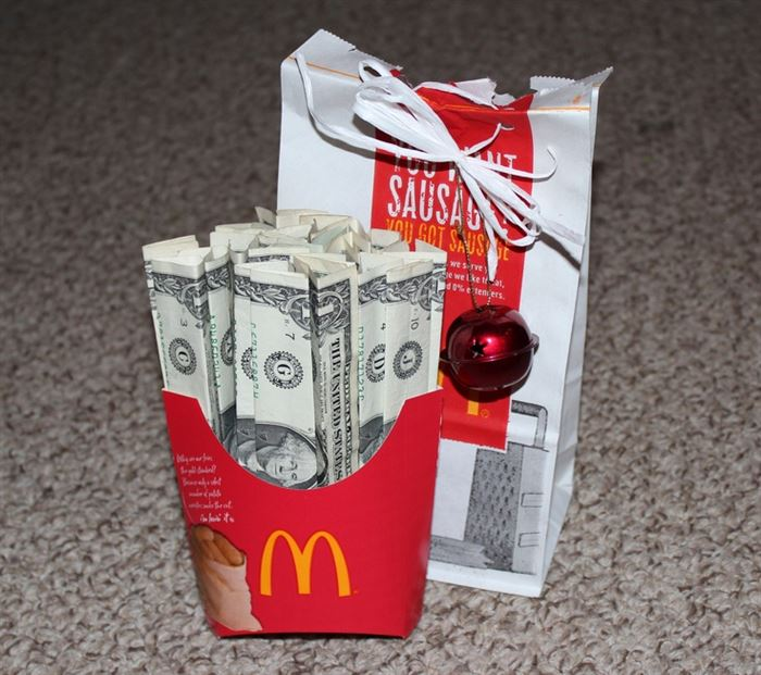 Diy Holiday Gifts Christmas Birthday Money As A