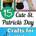 15 Cute St. Patricks Day Crafts for Kids