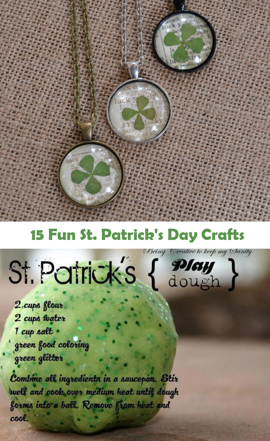 15 Fun St Patrick's Day Crafts