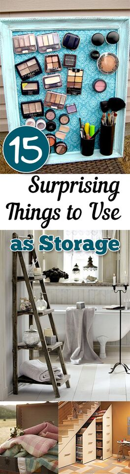 15 Surprising Things to Use as Storage