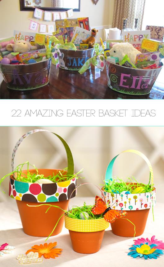 22 Amazing Easter Basket Ideas