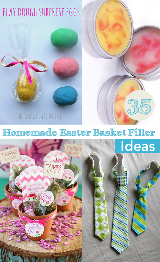Top 35 easter basket filler ideas my list of lists negle Images