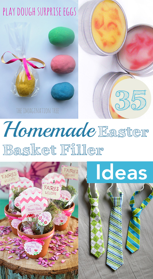 Top 35 easter basket filler ideas my list of lists 35 homemade easter basket filler ideas negle Gallery