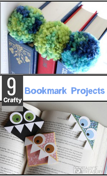 9 Crafty Bookmark Projects