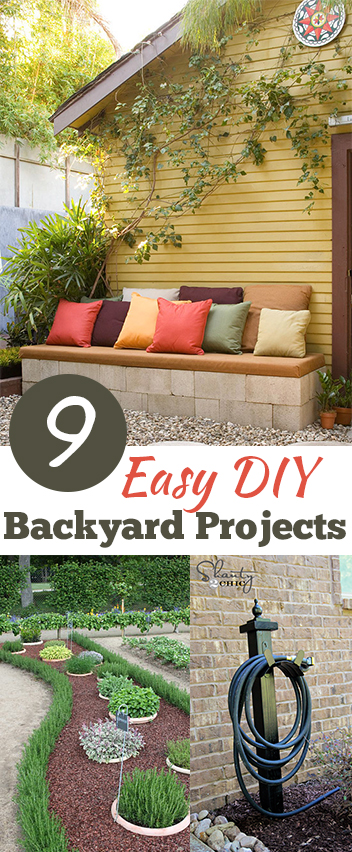 easy diy backyard projects