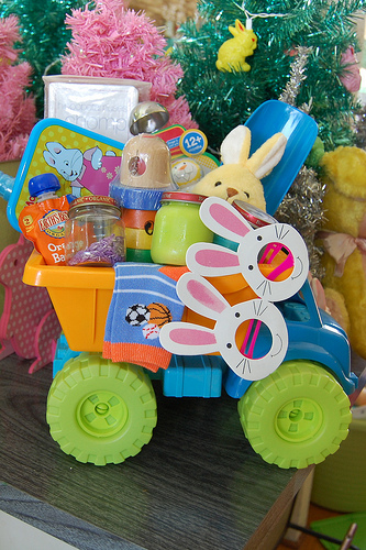 Easter Basket idea for toddlers 5