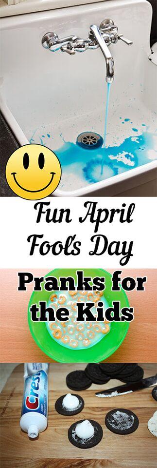 Fun April Fools Day Pranks for the Kids